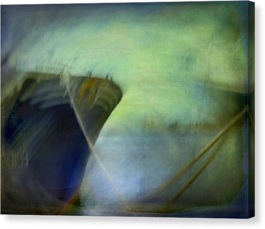 Ship #3 Canvas Print by Alfredo Gonzalez