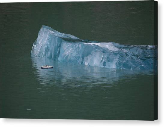 Ship And Iceberg Canvas Print