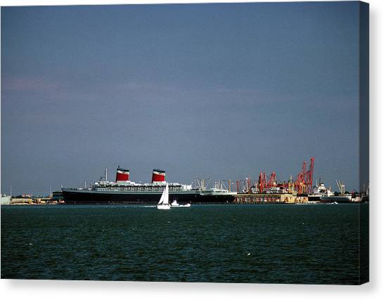 Ship Of State 2 Canvas Print