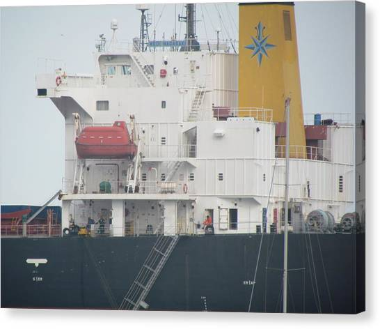 Ship Structure Canvas Print