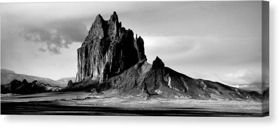 Shiprock Panorama Canvas Print