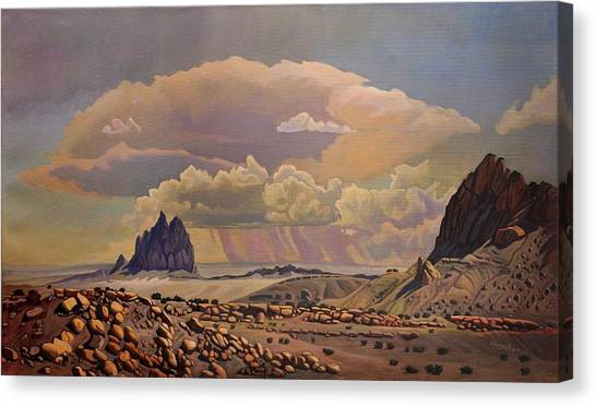 Shiprock Vista Canvas Print
