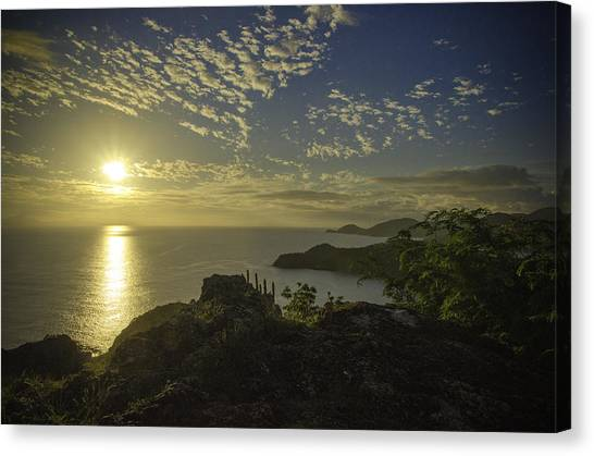 Shirley Heights Sunset Canvas Print