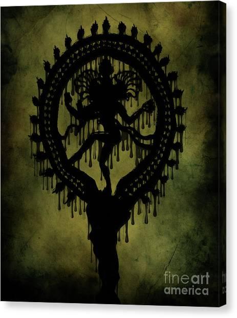 Karma Canvas Print - Shiva by Cinema Photography