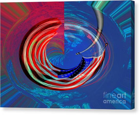 Shock And Awe Canvas Print