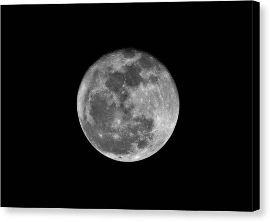 Shooting The Moon Canvas Print