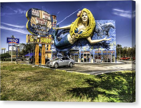 Shop Front Floriday Canvas Print by James Dunn