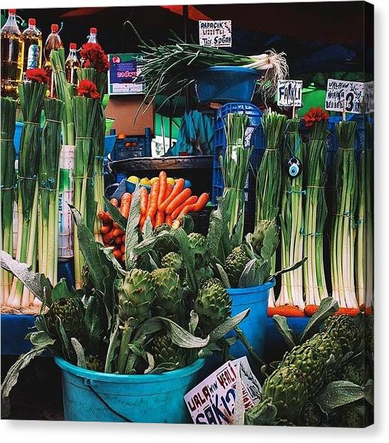 Artichoke Canvas Print - Shoppers Buy With Their Eyes First And by David  Hagerman