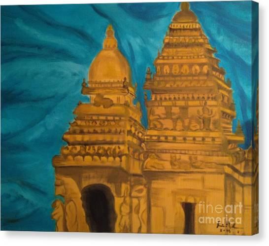 Shore Temple Canvas Print