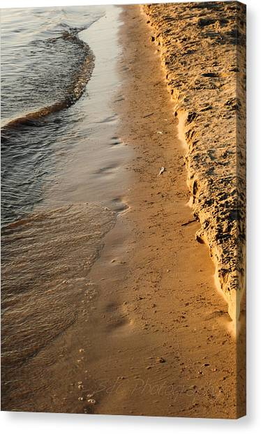 Shoreline Canvas Print by BandC  Photography