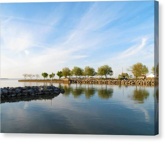 Shoreline Park Canvas Print