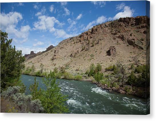 Shoshone River Canvas Print
