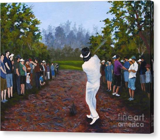 Shot Heard Around The World Canvas Print