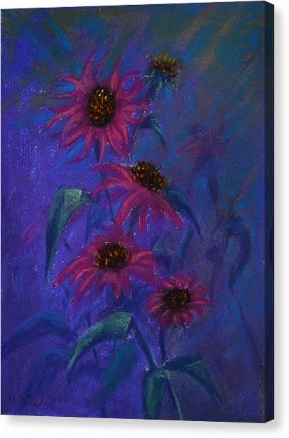 Show Off Canvas Print by Kathleen Keller