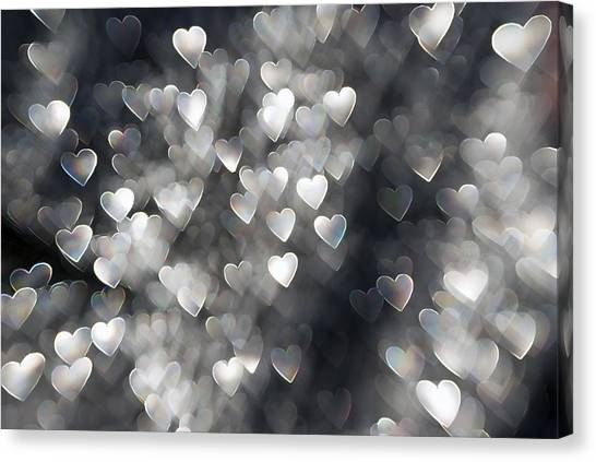 Showered In Love Canvas Print