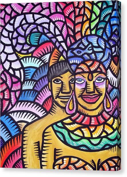 Showgurl In Me Canvas Print
