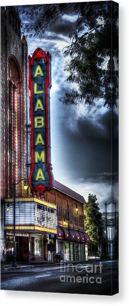 Showplace Of The South Canvas Print