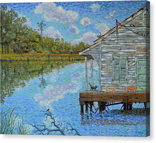 Shrimp Shack Canvas Print
