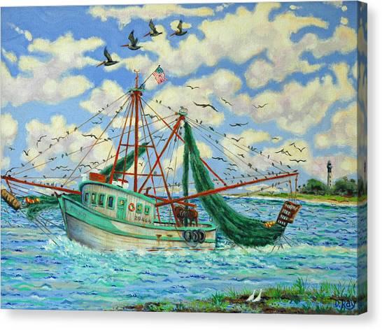 Shrimpin Canvas Print
