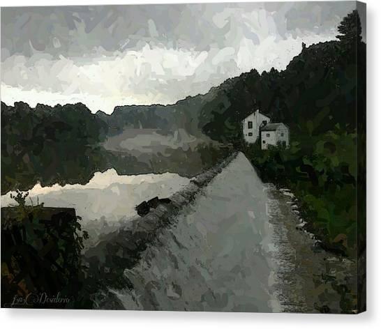 Shrouded Fluid Power Canvas Print
