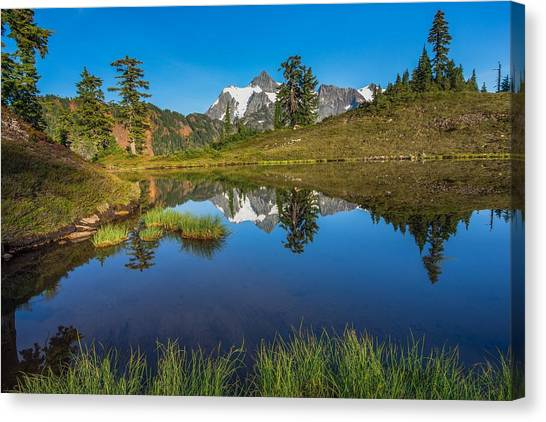 Shuksan Reflection Canvas Print