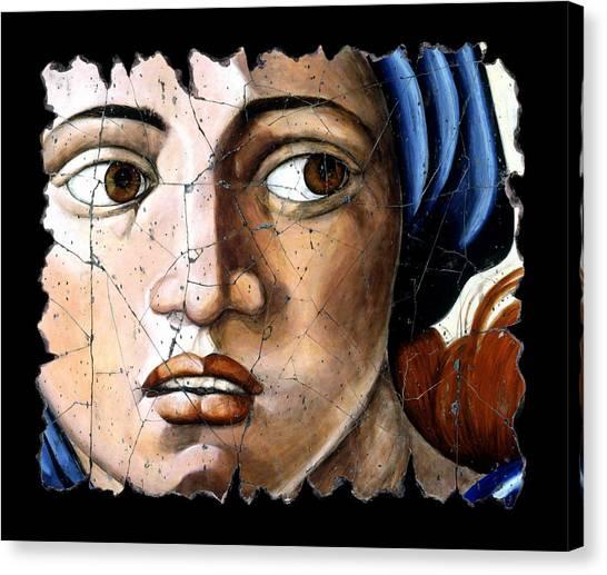 Bogdanoff Canvas Print - Sibyl Of Delphi by Steve Bogdanoff
