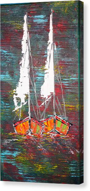 Side By Side - Sold Canvas Print
