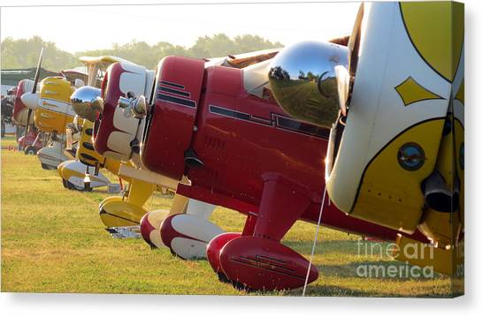Side By Side. Oshkosh 2012 Canvas Print