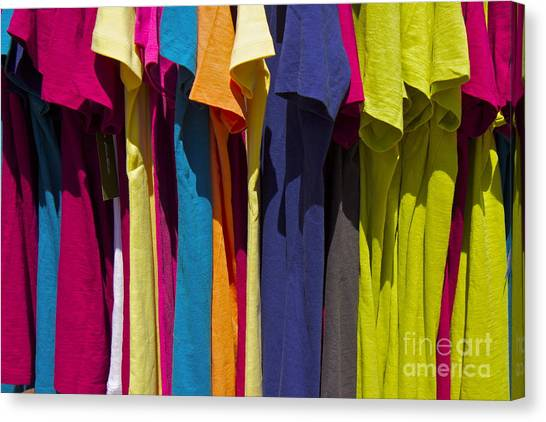 Sidewalk Sales Canvas Print