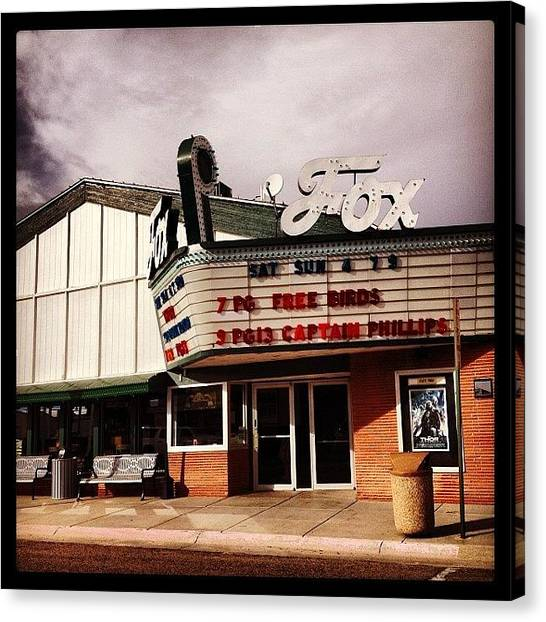 Popcorn Canvas Print - Sidney Ne #movies #popcorn #theater by M Hunter