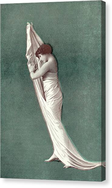 Colette Canvas Print - Sidonie-gabrielle Willy  French by Mary Evans Picture Library