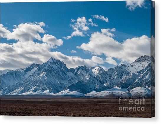Sierra Nevadas 2.3188 Canvas Print