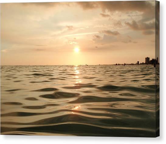 Siesta Key Beach Canvas Print