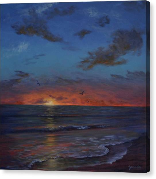 Siesta Key Sunset Canvas Print