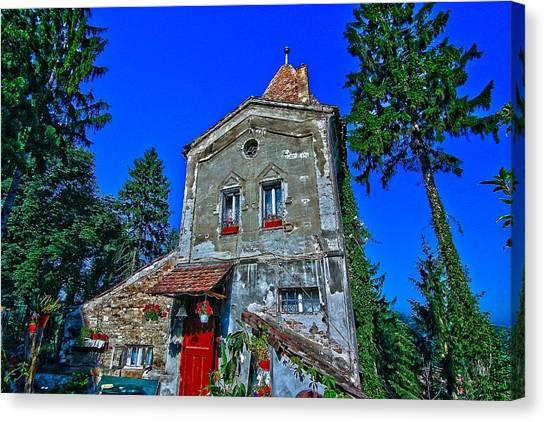 Sighisoara - Citadel Tower Canvas Print