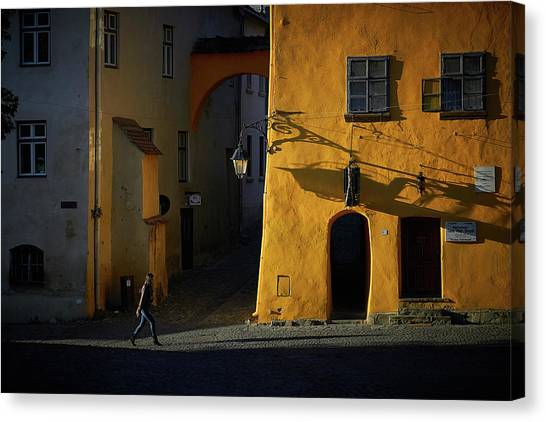 Sighisoara Canvas Print by Cristian Lee