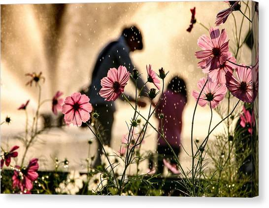 Sight In The Memory Canvas Print by Takako Fukaya