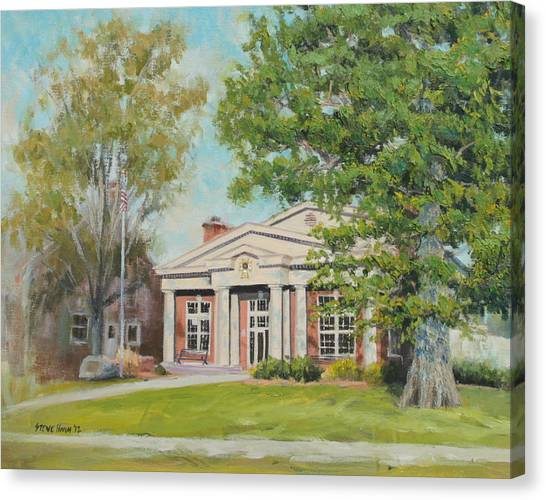 Sigma Chi Canvas Print - Sigma Chi Depauw by Steve Haigh