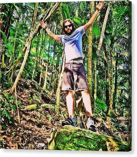 Rainforests Canvas Print - #signaturepose #elyunque #puertorico by Joseph Diaz