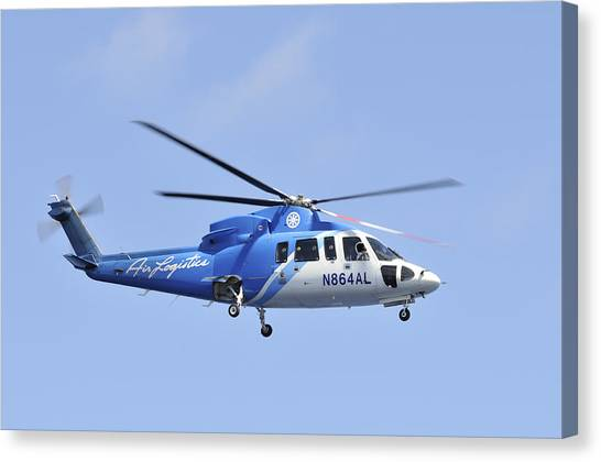 Sikorsky S-76c Canvas Print