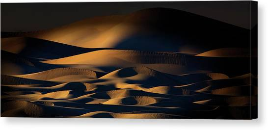 Death Valley Canvas Print - Silence by Phillip Chang