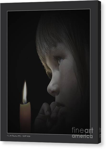 Silent Child Canvas Print