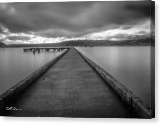 Silent Dock Canvas Print