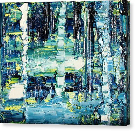Gerhard Richter Canvas Print - Silent Expression by Daniel Johnstone