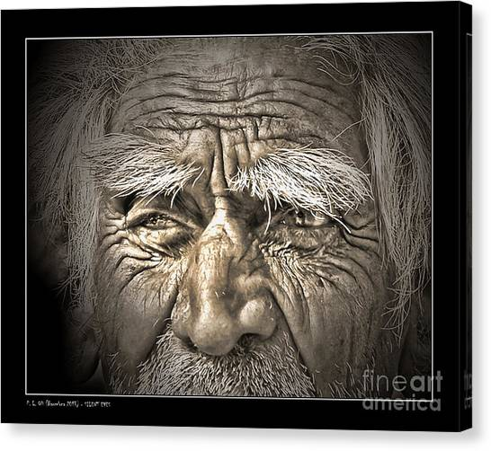 Silent Eyes Canvas Print