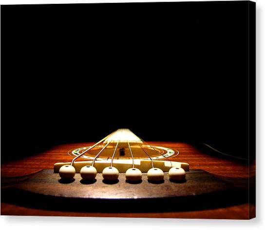 Silent Guitar Canvas Print