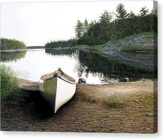 Silent Retreat Canvas Print