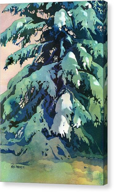 Christmas Canvas Print - Silent Season by Kris Parins
