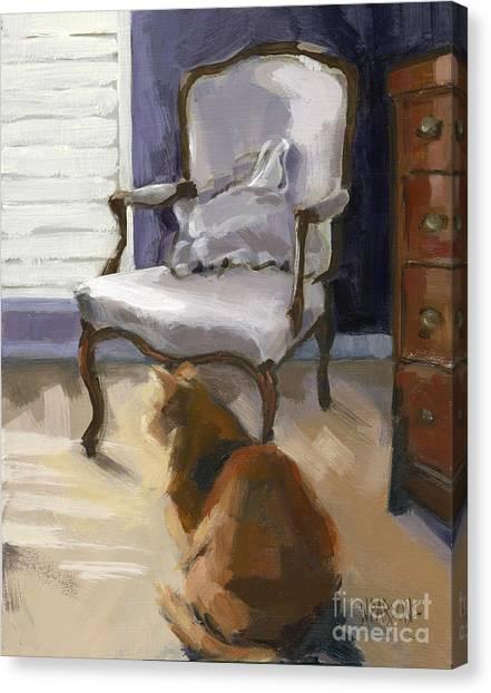 Sold-silent Sentinel Canvas Print
