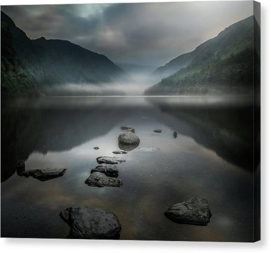 Meditation Canvas Print - Silent Valley by David Ahern